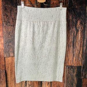 LuLaRoe Cassie Textured Knit Pencil Skirt